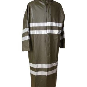 Battal Boy Reflektörlü Yağmurluk ( Çift sıra 5cm Reflektör)