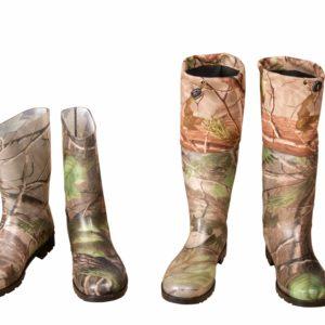 Orman Desen Çizme ve Konçlu Çizme