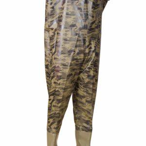 PVC Kamuflaj Tulum Çizme