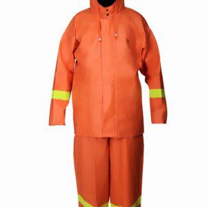Taslan Fermuarlı Bahçıvan Takım ( orange )